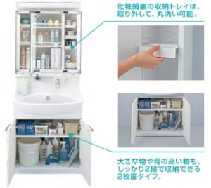 TOTO 洗面化粧台 クリアZ