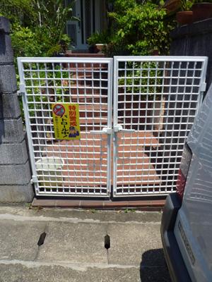 門扉の取替え